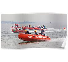 Close IRB racing at South Melbourne Poster