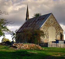 St Paul's Presbyterian Church ~ Hill End NSW by Rosalie Dale