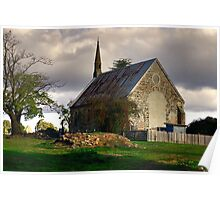 St Paul's Presbyterian Church ~ Hill End NSW Poster