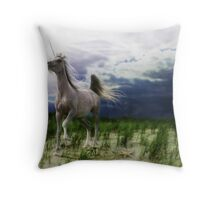 The Stormhorse Throw Pillow