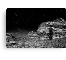 star trail in bungle bungle Canvas Print