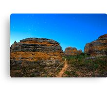 light the outback path Canvas Print