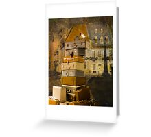 Leaving Quebec Greeting Card