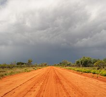 red road stormburst  by Les Pink