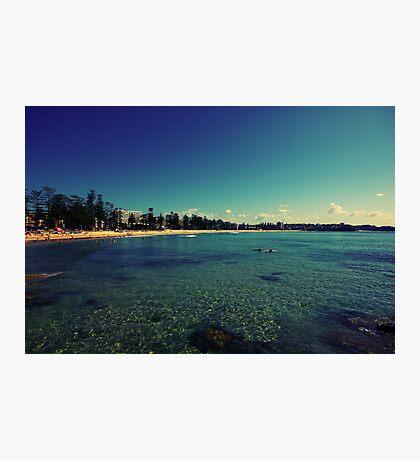 Aqua Marine Photographic Print