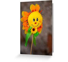 decorative sunflower Greeting Card
