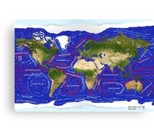 Ocean Currents Canvas Print
