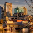 Downtown Sacramento Riverfront by SolanoPhoto