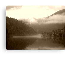 Gordon River  -Tasmania      -    sepia Canvas Print