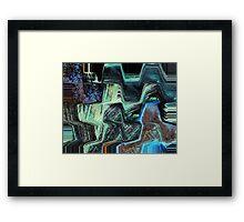 The Stoic Framed Print