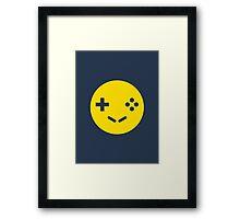 Gamer Smiley Framed Print