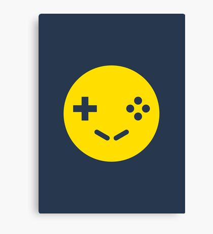 Gamer Smiley Canvas Print