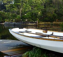 Boats at Risby Cove -Strahan -Tasmania by lighthousecove