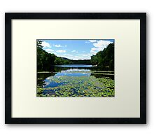 Wishing Summer Would Never End Framed Print