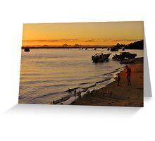 Bribie Island & The Glasshouse Mountains. Queensland, Australia. (2) Greeting Card