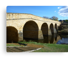 Oldest bridge in Australia-built 1823 - Tasmania Canvas Print