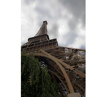 Eifel reaches to the clouds Photographic Print