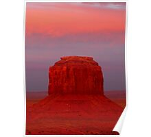 Merrick Butte, Monument Valley Poster