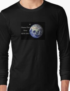 The World - Osama-Free Long Sleeve T-Shirt