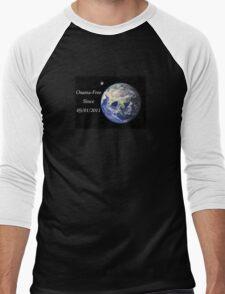 The World - Osama-Free Men's Baseball ¾ T-Shirt