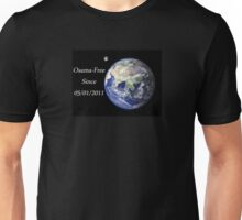 The World - Osama-Free Unisex T-Shirt