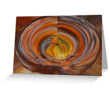 Wooden Bowl Greeting Card