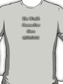 Osama-Free World T-Shirt