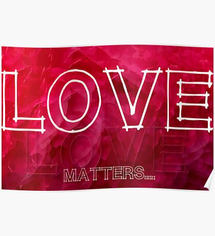 Love Matters... Poster