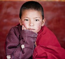 Young Monk by paulcowell