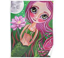 """Cancer (Zodiac Mermaid)""  Poster"