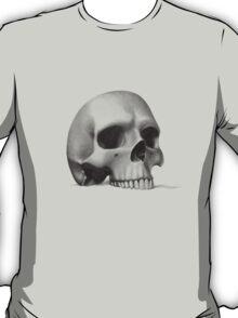 """""""call me morbid...""""  realistic pencil skull T-Shirt"""