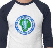 Jurassic World Vet Services Men's Baseball ¾ T-Shirt
