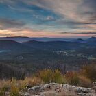 Marysville from Keppels lookout 2011 by Vicki Moritz