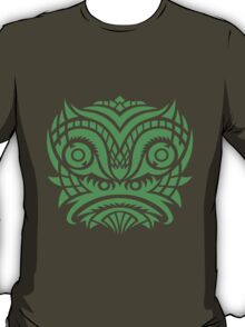 green tribal mask t-shirt T-Shirt