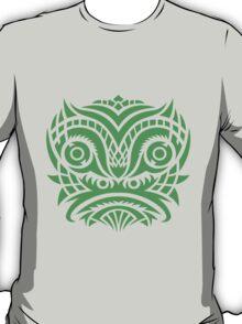 green tribal mask t-shirt T-Shirt
