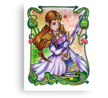 Zelda from The Legend of Zelda Canvas Print