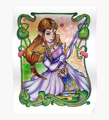 Zelda from The Legend of Zelda Poster