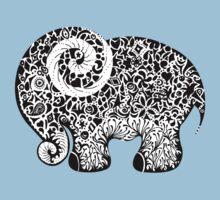 Elephant Doodle Kids Tee