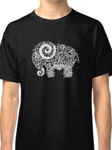 Elephant Doodle Classic T-Shirt
