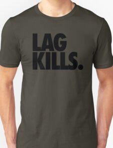 LAG KILLS. Unisex T-Shirt