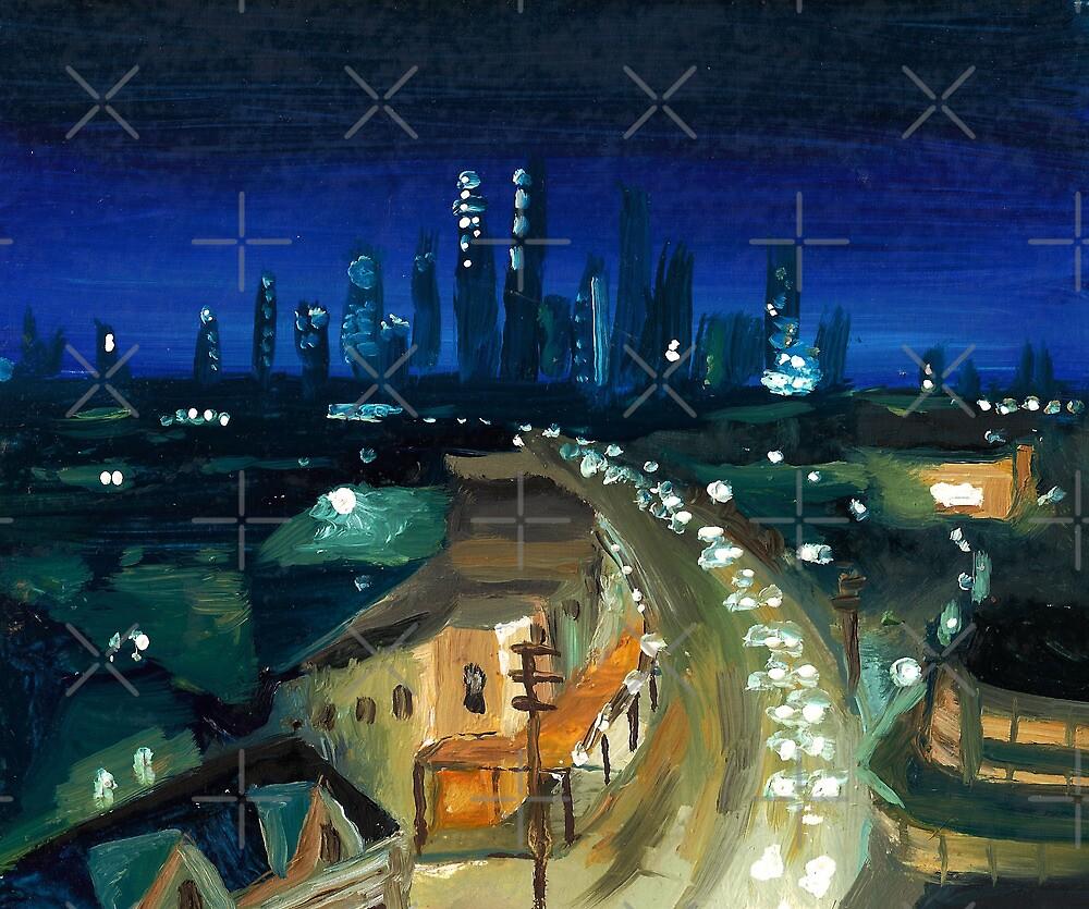 City Scape Sydney Oils by Tristan Klein
