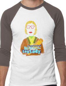 Log Lady Men's Baseball ¾ T-Shirt