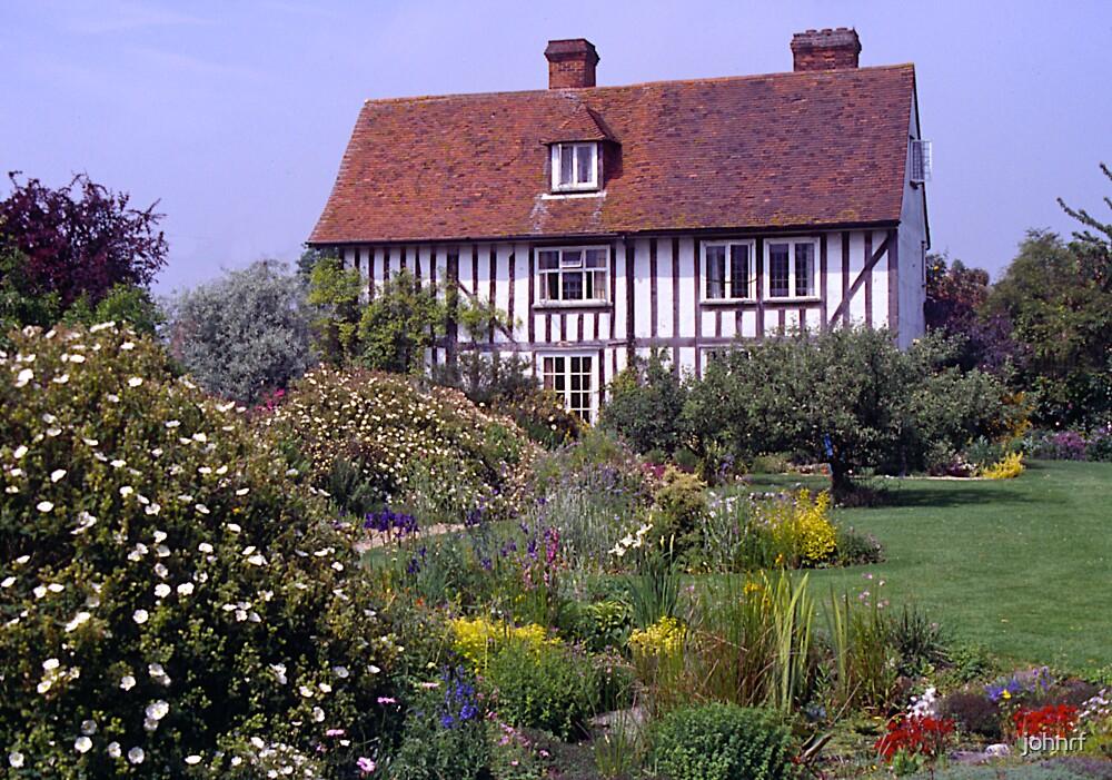 cottage garden#2, Stratford-upon-Avon, UK. by johnrf