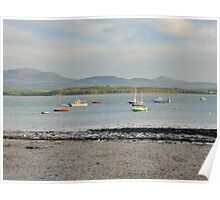 Beaumaris. Anglesey. North Wales Poster