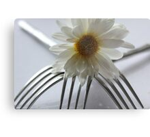 Upsi Daisy Three Fork Cow Lifter Metal Print