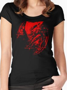 Haunter is haunting Women's Fitted Scoop T-Shirt
