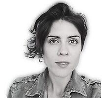 Tegan 'oh, hi' Photographic Print