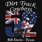 Dirt Track Cowboys Option 2 by Michael Lee