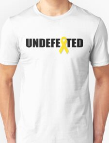 Undefeated By Cancer Unisex T-Shirt