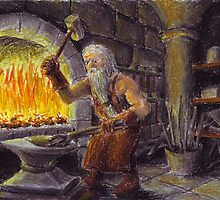 Thorin in Blue Mountains by Matěj Čadil